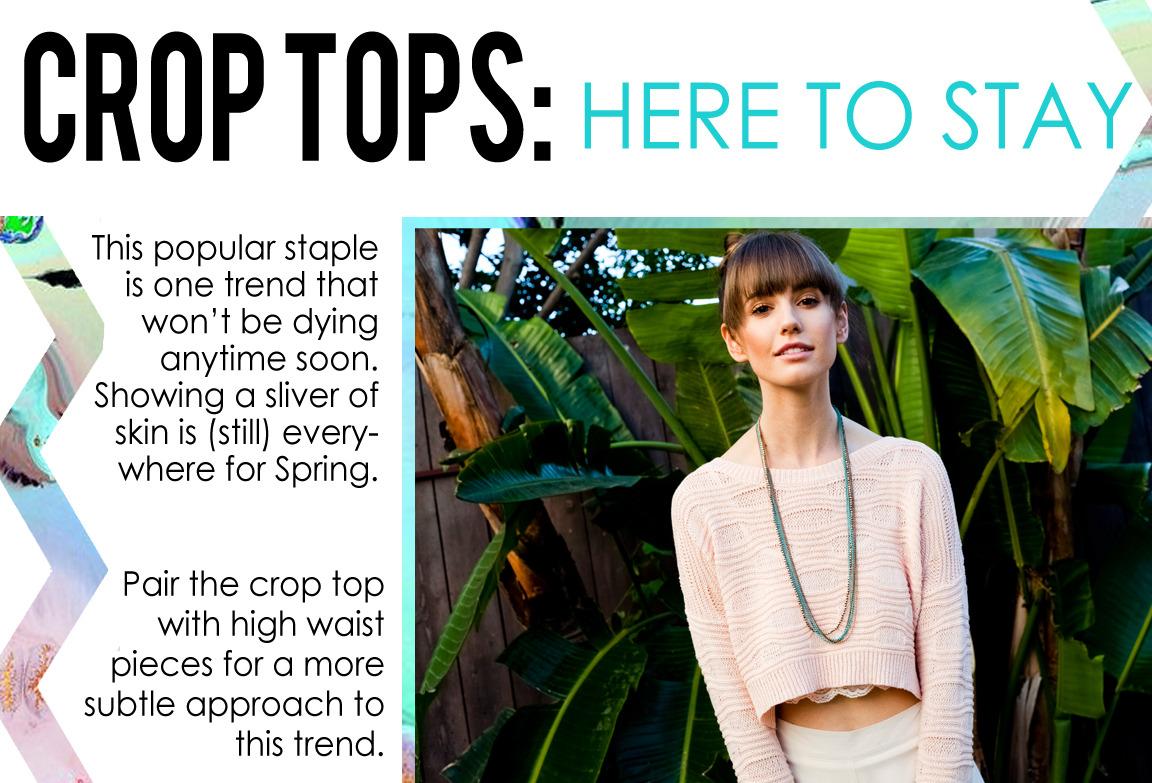 | TREND WATCH: Crop Tops |
