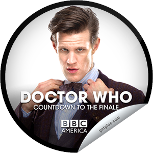 "I just unlocked the Doctor Who Countdown to the Season Finale: 4 Days sticker on GetGlue  4340 others have also unlocked the Doctor Who Countdown to the Season Finale: 4 Days sticker on GetGlue.com  You're counting down to the must-see Doctor Who season finale, ""The Name of the Doctor,"" Presented by Supernatural Saturday and only on BBC America Saturday May 18 at 8/7c. The Doctor has a secret he will take to his grave. And it is discovered… Share this one proudly. It's from our friends at BBC America."