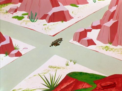 """Zipping Along"" (1953) Wile E. Coyote, Warner Bros."