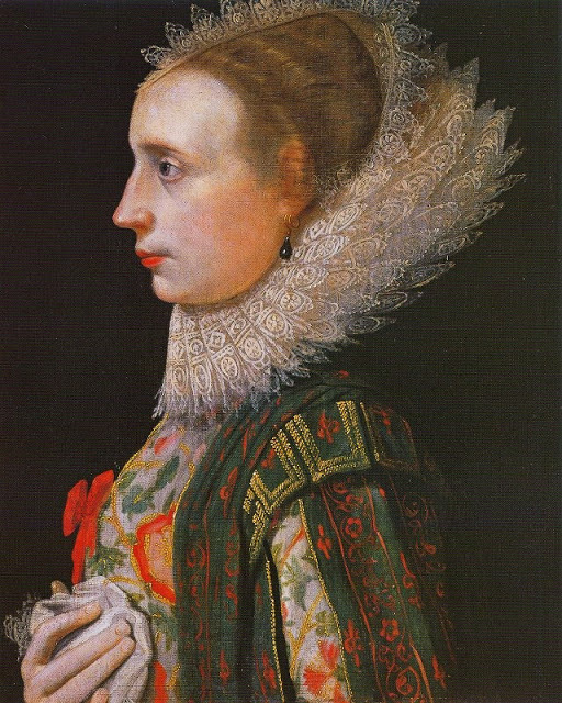 Nathaniel Bacon. Unknown Lady, 1620.   In Wikipedia