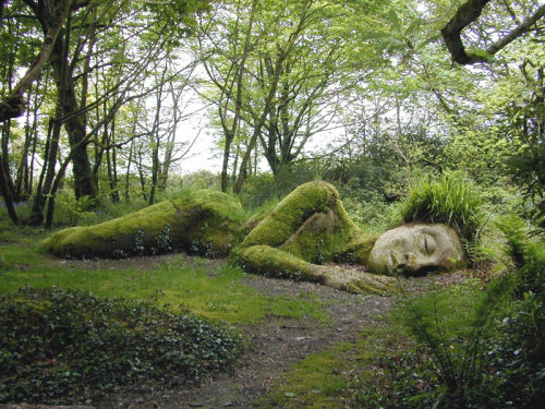 The Sleeping Goddess  The Lost Gardens of Heligan