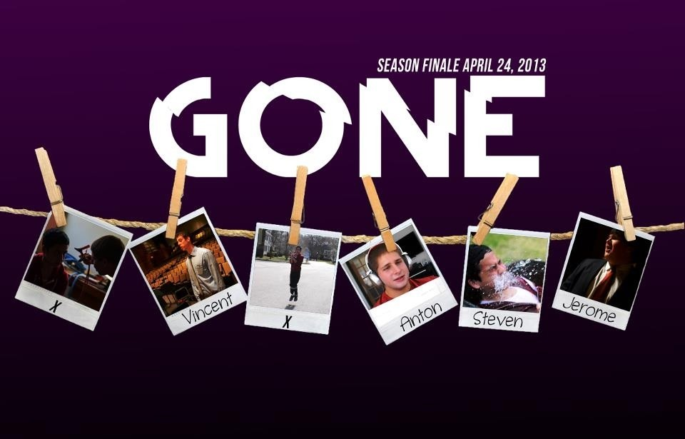 "GONE Season Finale next Wednesday! Check out the series on ""Stevenoutofthebox"" on YouTube!"