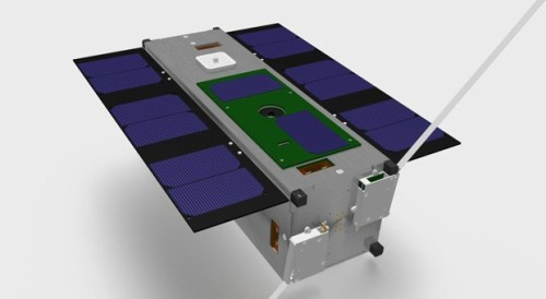(via Nexus One launched into space on CubeSat, becomes first PhoneSat in orbit (video)) Look at it! It's a PhoneSat sitting in a CubeSat! Off-the shelf components, in a hardened case (with a space-specific antenna, yes, I know), launched and transmitting. Ask it to take a picture for you! Click through for the full details.
