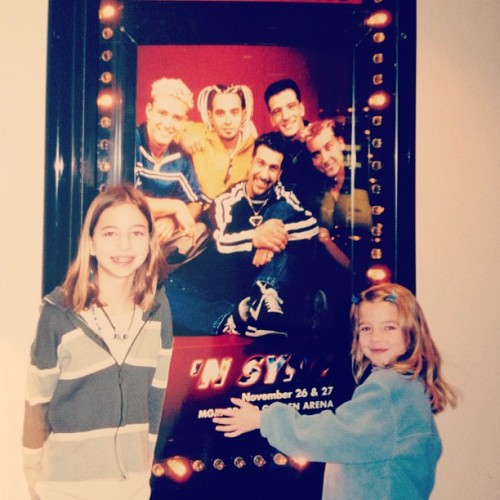 I was a major *NSYNC fan back in the day @msweenster #tbt http://bit.ly/15QjhcN