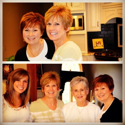 "Mother""s Day with my mom,  sister and @annarwick in Toledo."