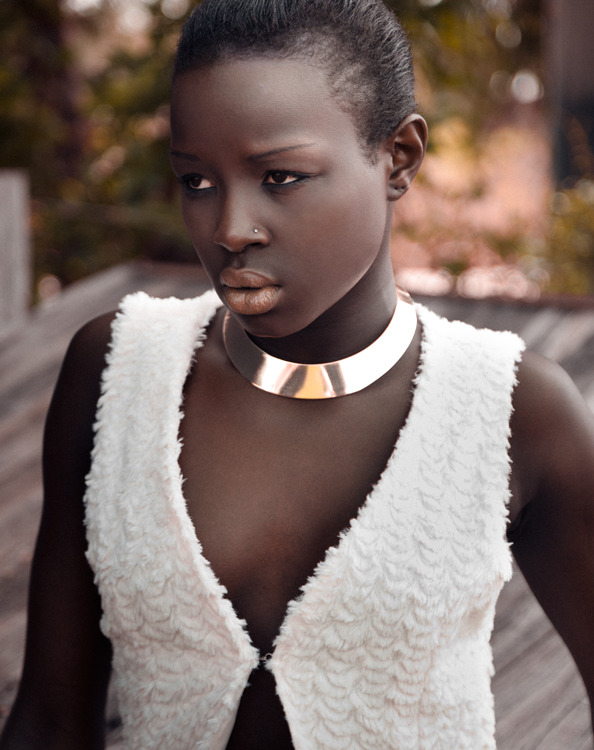 blackandkillingit:  darkskinnedblackbeauty:  Jeddy Malesh  Black Girls Killing It Shop BGKI NOW