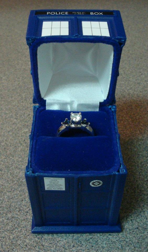 youriddlemethis:  I swear to Christ that if my fucking engagement ring comes in the TARDIS; Im going to fuck my boyfriend until he has to regenerate.