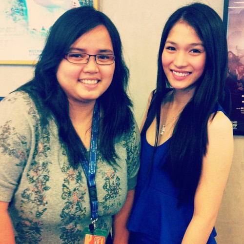 With Kevin Balot :) #kevinbalot #beautyqueen #abscbn  (at ELJ Communication Center)