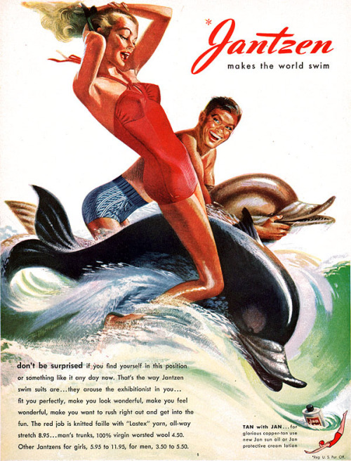 Jantzen 1947 / Illustrated by Pete Hawley