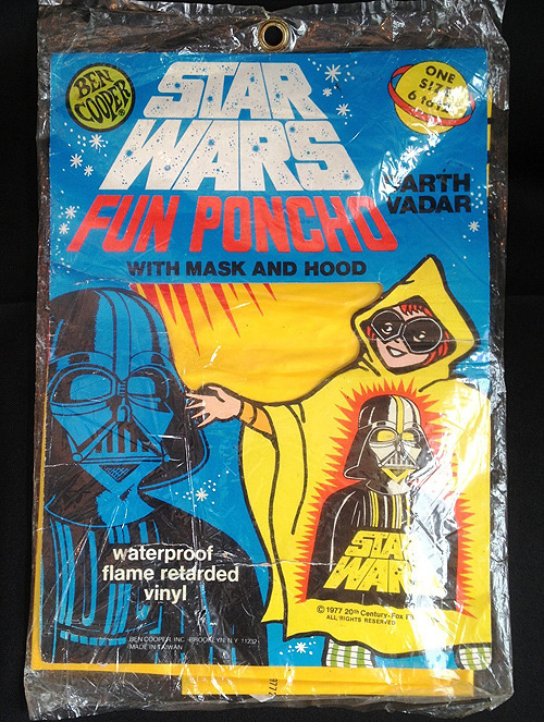 Nothing spells fun like a FUN PONCHO. (via ebay)
