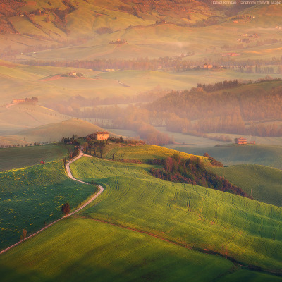 magicalnaturetour:  David Korzhonov ~ Tuscany