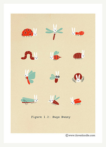 ffffffound:  Bugs Bunny | Flickr - Photo Sharing!  white rabbits!