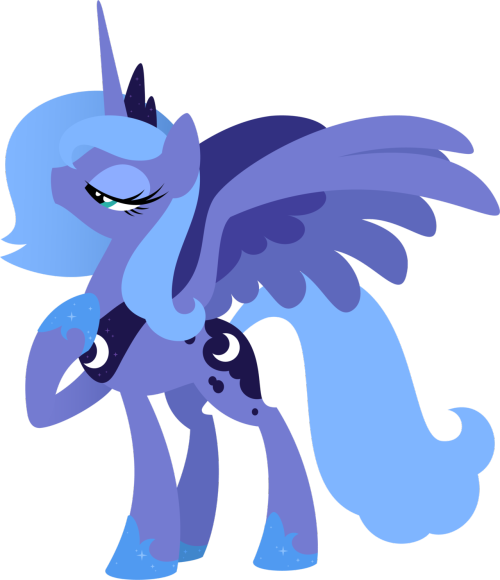 theponyartcollection:  S1 Luna by =Hexfloog