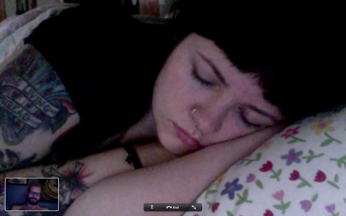 are-you-a-shelter:  My sleeping beauty.  boyfriend likes to take pictures of me when i'm asleep.