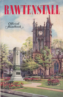 Rawtenstall, Lancashire - official handbook, c1956 by mikeyashworth on Flickr.