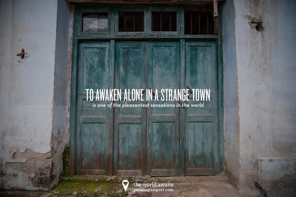 Week 5: This cover photo comes from Yangshuo, China. The quote is from Freya Stark, and the photo from Passion Passport founder Zach Glassman.  This cover photo is free for you to make your own!