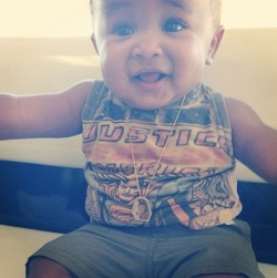 Tyga and Blac Chyna baby is soooo CUTE!