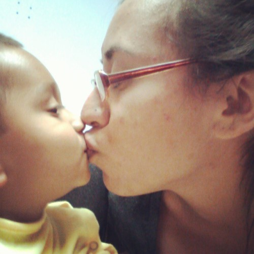 #besos with my little champ !