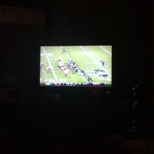 My View , 49ers Vs. Seahawks . #NFL #SundayNightFootBall