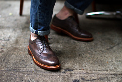 manchannel:  Allen Edmonds Larchmont Lace-Up
