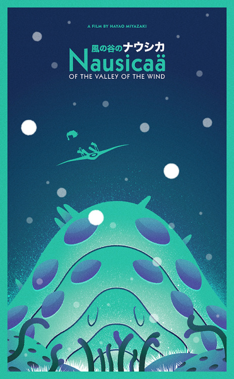 Nausicaä of the Valley of the Wind by Oliver Sin