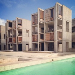 Another one from the #SalkInstitute. Sorry folks, there are a few to come. That place is just too #nice. (at Salk Institute)