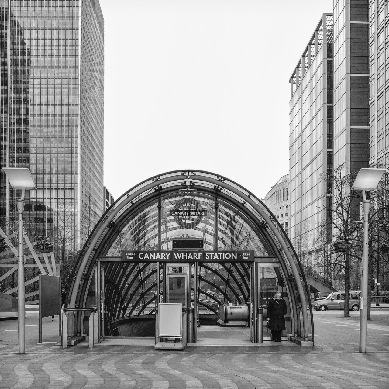 Railway Architecture #1 Canary Wharf Underground Station, London by Foster & Partners, 1999
