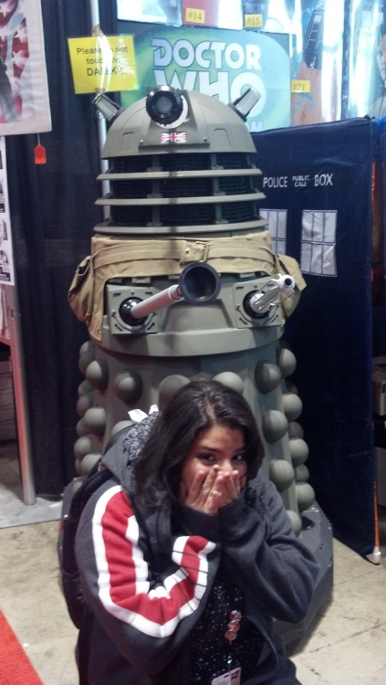 EXTERMINATE! (This may be one of my fav pics, like, ever.)