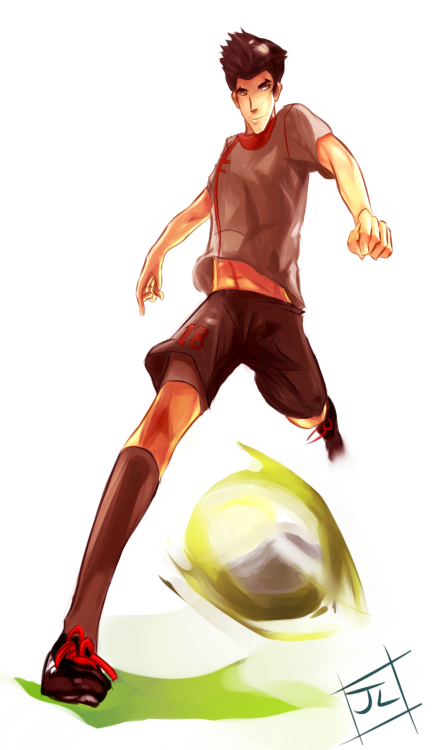 Soccer!Mako is ready to make a shootout goal! The wait for Book 2 is a pain…It's already been 3 days of 2013 and there's still no news! T____T (I'll be happy with just ONE screenshot. It doesn't even have to be anything MAJOR. It could be a screenshot of a fork for all I care.)