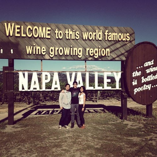 Ken. US. Napa. Love.
