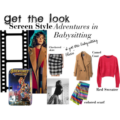 (via Get the Look - Screen Style - Adventures in Babysitting)
