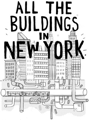 "takethecityandrun:  (via allthebuildingsinnewyork) ""An attempt to draw all the buildings in New York by James Gulliver Hancock, an illustrator originally from Australia currently based in Brooklyn, New York."""
