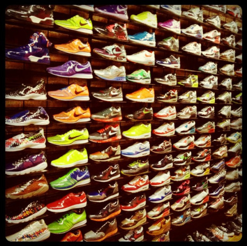 Colorful Kicks. Photographed by Sheena Smith.