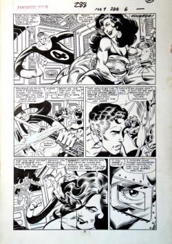johnbyrnedraws:  Fantastic Four #288, page 5 John Byrne & Joe Sinnott. 1986.