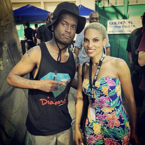 Me and Goapele via Instagram http://ift.tt/Y7nQ0x