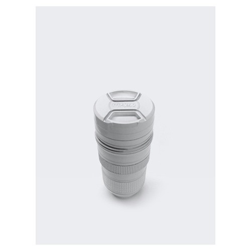 ALL THIINGS WHITE: Nikon camera lens mug.