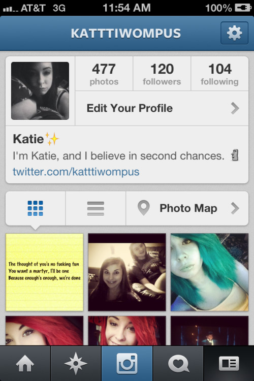 Follow me if you love me. :( No one will. I might follow up back if I like your stuff.