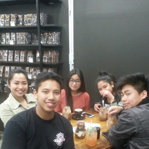 us with our jars of goodness! :) #noragrets #yfcadelaide  (at Steven ter Horst Chocolatier)