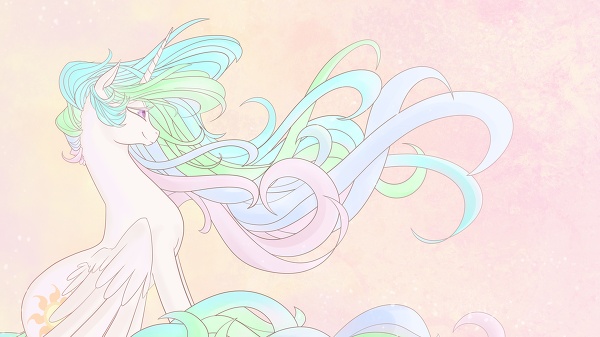 kawaii-rainbow-pony:  eternity's sunrise by Ego