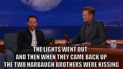 Nick Kroll was on Conan last night to talk about Kroll Show and being at Sunday's Super Bowl. Click the image to watch, then tune in to an all-new Kroll Show tonight at 10:30/9:30c after Workaholics.