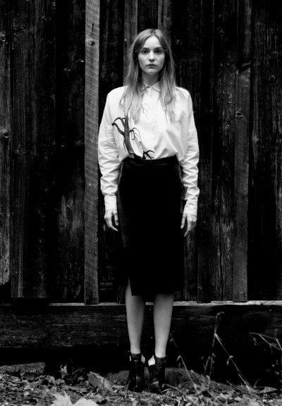 moldavia:  Dorothea Barth Jörgensen in Un-Titled Project #5 S/S 2013 by Dennis Golonka