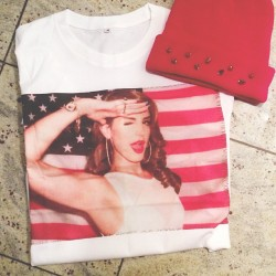 dirtylittlestylewhoree:  Dying over the Lana Del Rey tee and spiked beanie that cosmic vintage sent over for me to style! So in lovvvve! #bloggermail