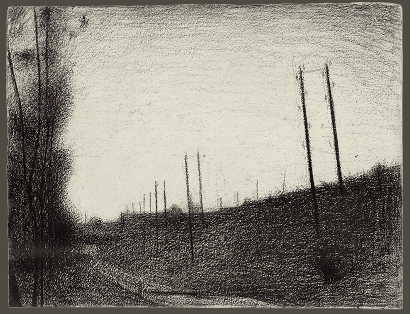 Georges Seurat, Railway Tracks c.1881-1882
