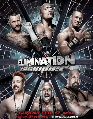 I am watching WWE Elimination Chamber                                                  3914 others are also watching                       WWE Elimination Chamber on GetGlue.com