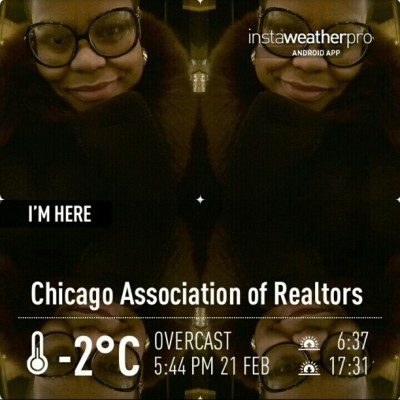 I'm ready for the cold and snow in #Chicago . Thank God for heat. #SoMoLo
