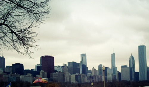 Chicago, taken from in front of Shedd Aquarium.
