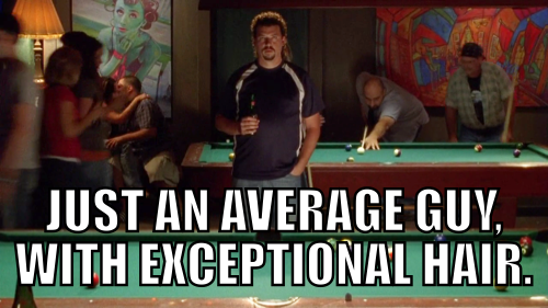 Describe Kenny Powers in 7 words or less.