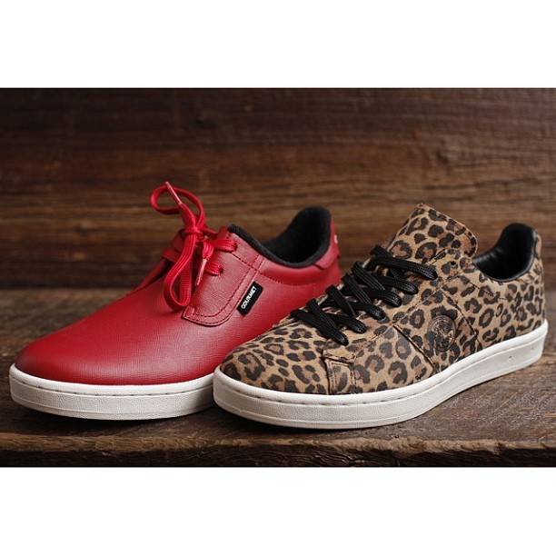 aliveandwellsea:  @gourmetfootwear Spring 13' Cinque and Rossi models. Instore now. #gourmet #chillipepper #cheetah @jonbuscemi  I like spicy things