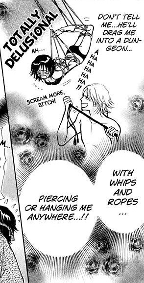 This manga is way too funny! Nice rope work ;D