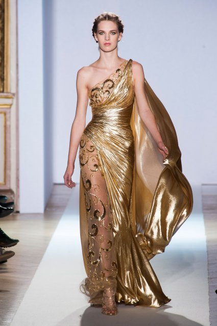 Zuair Murad fashion week spring summer 2013. Paris